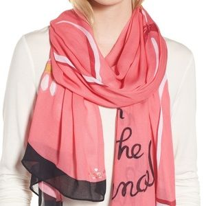🆕 Kate Spade Chandelier Scarf NWT